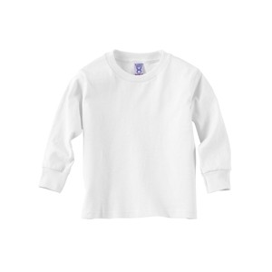 Rabbit Skins Toddler Long-Sleeve Cotton Jersey T-Shirt
