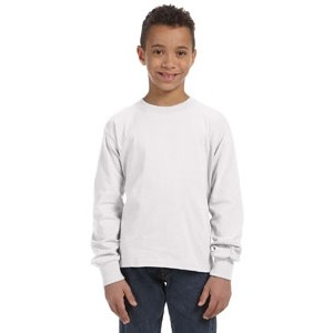 Fruit of the Loom Youth 5 oz. HD Cotton? Long-Sleeve T-Shirt