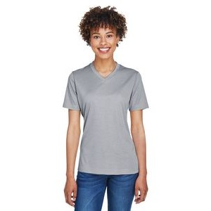 Team 365 Ladies' Zone Sonic Heather Performance T-Shirt