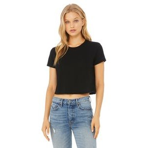 Color Image Apparel - Bella Ladies' Flowy Cropped T-Shirt
