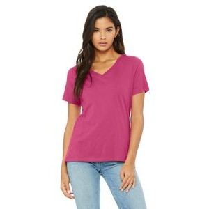 Color Image Apparel - Bella Ladies' Relaxed Jersey Short-Sleeve V-Neck T-Shirt