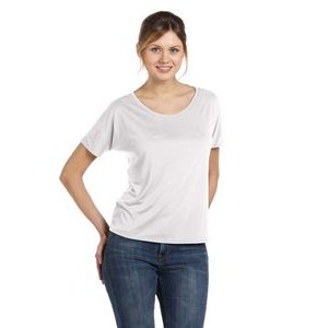 Color Image Apparel - Bella Ladies' Slouchy T-Shirt