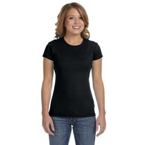 Color Image Apparel - Bella Ladies' Baby Rib Short-Sleeve T-Shirt