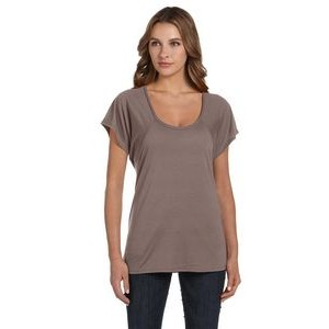 Color Image Apparel - Bella Ladies' Flowy Raglan T-Shirt