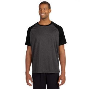 ALL SPORT Unisex Performance Short-Sleeve Raglan T-Shirt