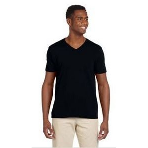 Gildan Adult Softstyle® 7.5 oz./lin. yd. V-Neck T-Shirt