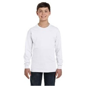 Gildan Youth Heavy Cotton? 8.8 oz./lin. yd. Long-Sleeve T-Shirt