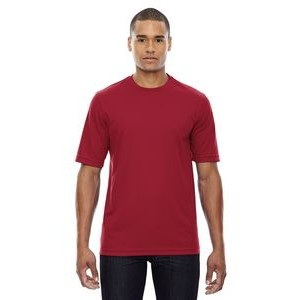 CORE 365 Men's Pace Performance Piqué Crewneck