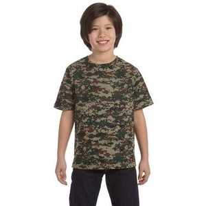 CODE V Youth Camo T-Shirt