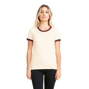 NEXT LEVEL APPAREL Ladies' Ringer T-Shirt