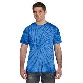 Tie-Dye Adult 5.4 oz. 100% Cotton Spider T-Shirt