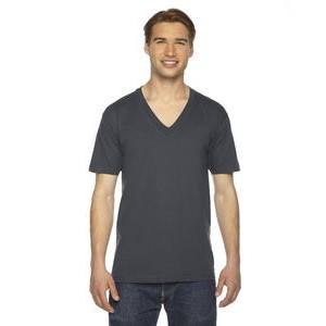 American Apparel Unisex Fine Jersey Short-Sleeve V-Neck T-Shirt