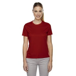 CORE 365 Ladies' Pace Performance Piqué Crewneck