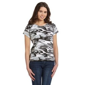 CODE V Ladies' Camo T-Shirt