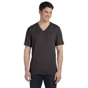 Canvas Unisex Triblend Short-Sleeve V-Neck T-Shirt