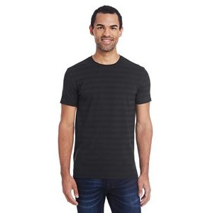 THREADFAST Men's Invisible Stripe Short-Sleeve T-Shirt