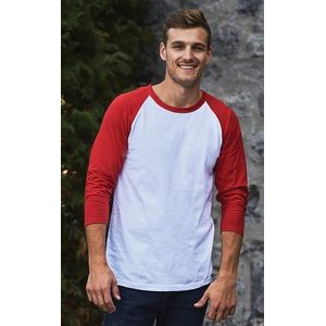 M & O Knits® Heavy Weight Adult Baseball T-Shirt
