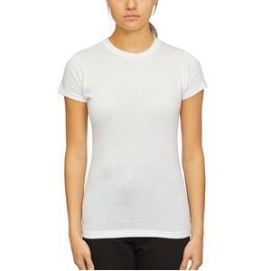 M & O® Knits Ladies Blend Tee Shirtr