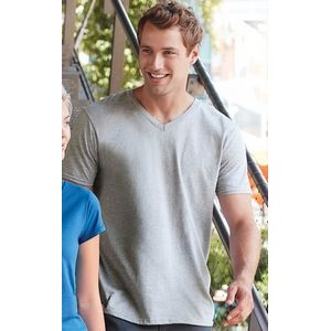 Gildan® Adult V-Neck T-Shirt