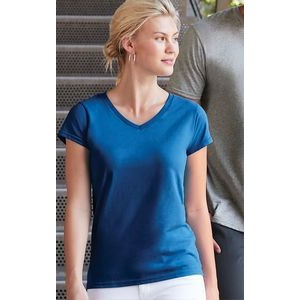 Gildan® Softstyle Ladies Fitted V-Neck T-Shirt
