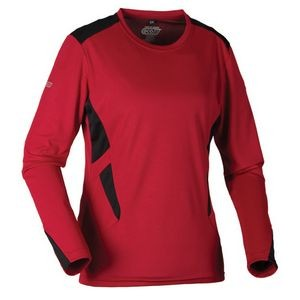 Ladies Dagger Eco® Drytech Crewneck Shirt